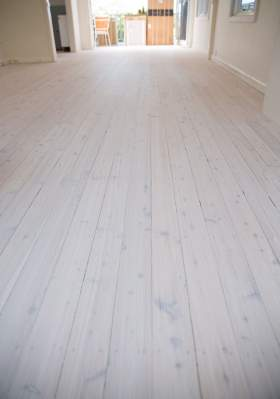 Lime Wash Timber Floors