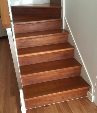 Oiled Stairs