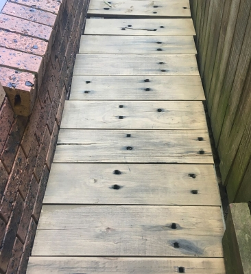 Recycled Deck Timbers