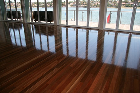 Polished Timber Floor