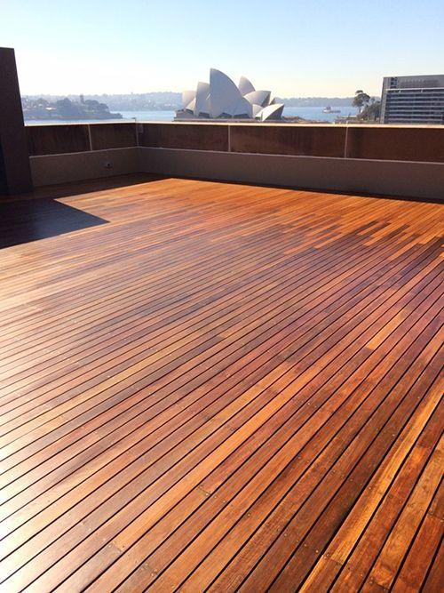 Sanding Timber Deck